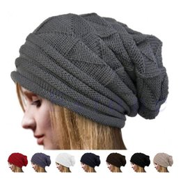 4eacc1a38ddcf Hot sale Winter Beanies for Men Women Solid Color Hat Man Women Plain Warm  Soft Skull Knitting Cap Touca Gorro Hats Vogue Knit Beanie