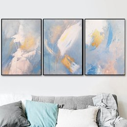 $enCountryForm.capitalKeyWord NZ - Abstract Wings of Dream Color Canvas Painting Fashion Golden Posters And Prints For Living Room Asile Bedroom Wall Art imagen HD