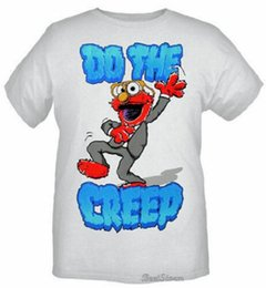 $enCountryForm.capitalKeyWord UK - NEW Sesame Street Muppets ELMO Do the Creep Dance Club T-Shirt Tee Men's L & XL Men Women Unisex Fashion tshirt Free Shipping