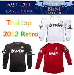 977d0bca367 11 12 Real Madrid Soccer Jeresy  22 Di Maria  14 Alonso  7 Ronaldo  8 Kaka   10 Ozil Jersey 2011 2012 Vintage Trikot Football Shirts Maillot