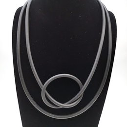 $enCountryForm.capitalKeyWord UK - YD&YDBZ Handmade Rubber Necklaces Punk Style Jewelry Ladies Short Choker Necklace Harajuku Vintage Torque Wholesale Jewellery