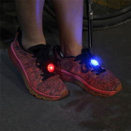 Home Torch Australia - Bike Cycling LED Light Outdoor Sport Running Mini Flashing LED Running Torch Night Walking Shoes Safety Warning Light Lamp