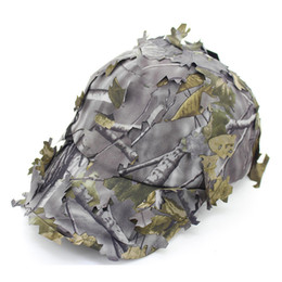 $enCountryForm.capitalKeyWord NZ - Fashion Sniper gam cap Jedi survival camouflage hat outdoor Military training jungle Maple leaf Shade Eating chicken Tactical cap