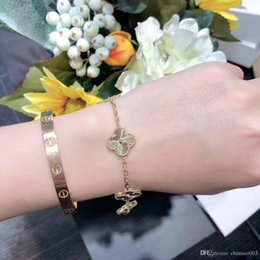 $enCountryForm.capitalKeyWord Australia - Classic fashion designer jewelry rose gold bracelet, with original packaging box, high-end gift selection, free door-to-door delivery 06