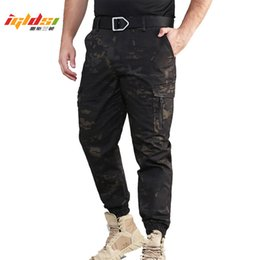 $enCountryForm.capitalKeyWord NZ - Men's Camouflage Tactical Jogger Pencil Pants Many Pockets Army Combat Cargo Pants Paintball Cotton Trousers