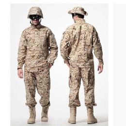 $enCountryForm.capitalKeyWord Australia - US Army Desert Tactical Camouflage Combat Uniform Camo ACU Men Clothing Outdoor Hunting suits Jacket + Pants