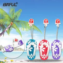 $enCountryForm.capitalKeyWord Australia - Fashion Catoon Usb Flash 16 Gb 32gb 4gb 8gb Slippers Pen 64gb Shoes Pendrive Memory Stick U Drive