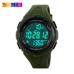 shark swim Australia - Man Wrist Watch Waterproof Electronic Watch More Function Outdoor Sport Plan Step Swimming Schoolboy Trend Wrist-watches
