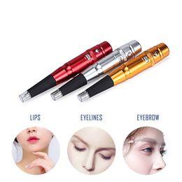$enCountryForm.capitalKeyWord Australia - Permanent Makeup Tattoo Machine Pen Kit Professional Electric Eyebrow Tattoo Gun For Tattoos Eyebrows Eyeliner Lip Machine Brand T10190617