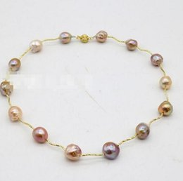 Edison Chain Australia - FREE SHIPPING++11-13MM fashion personality, Baroque style, special-shaped pearl necklace, mixed color, Edison Pearl