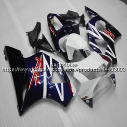 $enCountryForm.capitalKeyWord Australia - Gifts+Custom blue white motorcycle Fairing For Honda CBR954RR 2002-2003 CBR 954RR 98 99 ABS Body Kit motorcycle panels