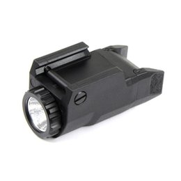 Wholesale Tactical Compact APL Light Constant Momentary Strobe Flashlight APL C LED White Light Black with