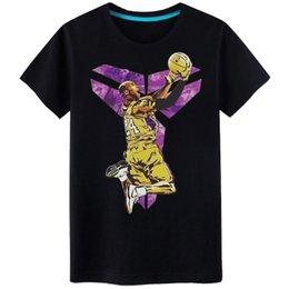 Kobe basKetball shorts online shopping - New High quality T Shirt Men Summer Short Sleeve T Shirts printing Crewneck Casual Tops t shirts for men Kobe basketball