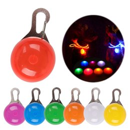 Chirstmas Led Lights Australia - Night Safety LED Flashlight Pet Pandent Glow In The Dark Bright Pets Supplies Accessories Cat Dog Collar Leads Lights