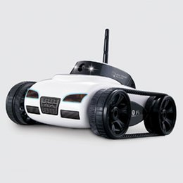 electric camera car 2019 - Rc Car With Camera 777 -270 Wifi Remote Control Toy Tank Fpv Camera Support Ios Android Iphone Ipad Ipod Controller Gift