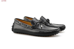 American Leather Shoes Australia - fashion new black men European and american style Classic patent leather men dress shoes size 39-45