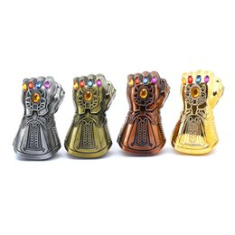 Wholesale New Thanos Gauntlet Glove Beer Bottle Opener Multi Use Avengers Figures Soda Glass Cap Remover Tool Super hero Decoration Creative Gift