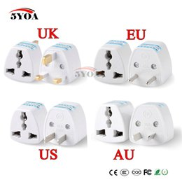 universal electronics NZ - Consumer Electronics 1PC Universal US UK AU To EU Plug USA To Euro Europe Travel Wall AC Power Charger Outlet Adapter Converter