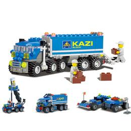 $enCountryForm.capitalKeyWord Australia - New Arrival 163pcs Transport Dumper Truck Model Building Blocks Can Build 8 Shapes Educational Toys Kids Birthday Gifts Y190606