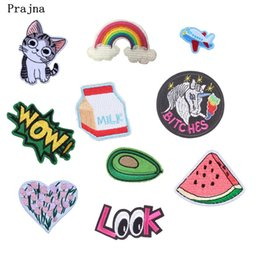 $enCountryForm.capitalKeyWord Australia - Earth Astronaut Iron On Patches For Clothing Cheap Cartoon Embroidery Patch Fabric Badge Stickers For Clothes Jeans Decoration