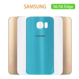 $enCountryForm.capitalKeyWord Australia - New For Samsung Galaxy S6 Back Battery Cover Door Housing Cover Case S6 edge G925 No Lens