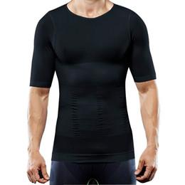 $enCountryForm.capitalKeyWord Australia - T Shirt Men Running Sport Compression Shirts Workout Jersey Quick Dry Seamless underwear girly abdomen tight Bodybuilding 2019