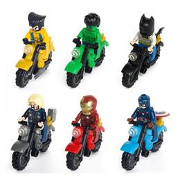 $enCountryForm.capitalKeyWord NZ - Ninja Avengers Motorcycle Building Block Block Puzzle Marvel Captain America Deadpool X-man thor Batman ironman superman spiderman tortoise