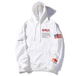 China Wholesale American and European Hipster Heron Preston x NASA Designer Hoodie Youthful Popularity Mens Designer Clothing Leisure Sweatshirt cheap natural belt suppliers