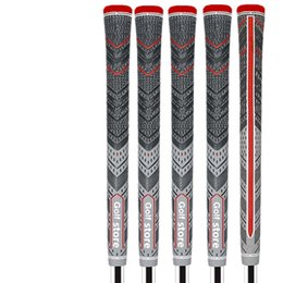 Venta al por mayor de 2018 Nueva gris / rojo Golf Grips ALIGN MCC Plus 4 Multicompound tamaño estándar / tamaño mediano envío