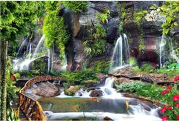 $enCountryForm.capitalKeyWord UK - Custom any size photo Waterfall landscape wall painting mural 3d wallpaper 3d wall papers