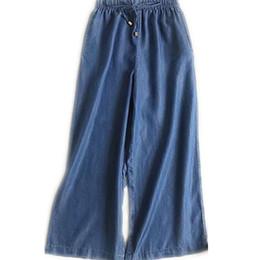 Polka Dot Print Schlaf Bottoms Vintage Frauen Hosen Lace Up Taille Kordelzug Breite Beine Hosen Lose Pijama Plus Größe B88397 Damen-nachtwäsche
