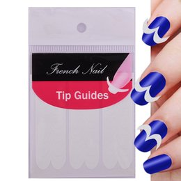 Smile Pack Australia - ROSALIND 5 Packs French Manicure UV Gel Sticker Smile Tip Guides Pedicure DIY Nail Art Stickers Makeup Nail Art Tools
