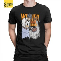 $enCountryForm.capitalKeyWord Australia - Pubg T Shirts Winner, Winner Chicken Dinner Merchandise Designs 100% Cotton Tees Short Sleeve Tees For Men Crewneck T-shirts