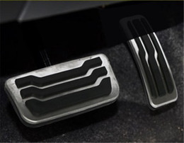$enCountryForm.capitalKeyWord NZ - Auto Accessories Aluminium car pedals For Ford Everest Endeavour AT Accelerator Pedal Brake Pedal Footrest Pedal Free punching