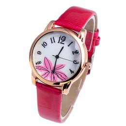watches products UK - new products cheap pretty slim stone pu leather watches ladies women