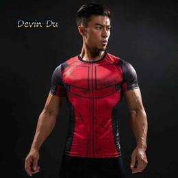 Discount deadpool 3d shirt - Fun Deadpool Shirt Tee 3d Printed T-shirts Men Fitness Clothing Male Tops Funny T Shirt man Deadpool Costume Display