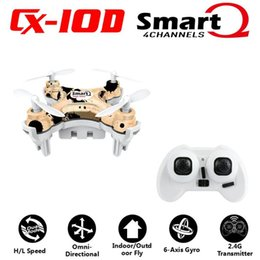 Discount rc helicopters rtf - Cheerson CX10D CX 10D CX-10D 2.4GHz 4CH 6 Axle Gyro High hold Mode RC Helicopter Quadcopter Micro Mini Drone Mode2 RTF