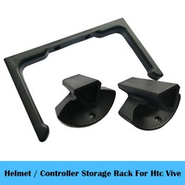 virtual reality controller Australia - VR Storage stand   Storage rack   Wall bracket For HTC Vive Headset Helmet controller Virtual Reality case Accessories