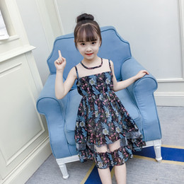 23dedf51a31 Solid Cute Sleeveless Girls Dresses 2019 Princess Children Clothes  Knee-length A-line Kid Girl Dresses for 3-15 Years ds822