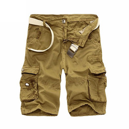 Wholesale free military clothing resale online – Summer Men S Camo Cargo Shorts Cotton Military Camouflage Male Jogger Board Shorts Men Fashion Clothing Size