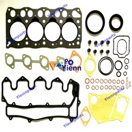 Small Engines NZ - 4LC1 Engine Overhaul Full Gasket Kit 5-87812-670-3 fit for Isuzu diesel Sumitomo SH40JX Small backhoe engine