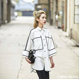 $enCountryForm.capitalKeyWord NZ - New Spring Garment for Women in 2019 Hong Kong Style Shirt Harbor Style Retro European Design Sense Small Population White Shirt Skirt Trend