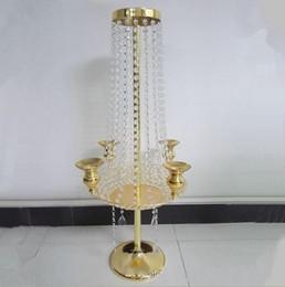 $enCountryForm.capitalKeyWord Australia - table top decoration big elegant fashion Large table top crystal chandelier flower stands centerpieces for weddings