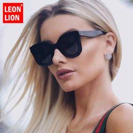 $enCountryForm.capitalKeyWord Australia - LeonLion 2019 Leopard Cat Eye Sunglasses Women Designer Luxury Man Women Sun Glasses Classic Vintage UV400 Outdoor Eyewear
