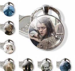 Solar Light Products Australia - 10pcs lots Keychain New product Game of Thrones Charms Pendants Key Riotection Travel Protection DIY Accessories