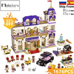 Model Building Nice 254pcs Legoings Princess Series Diy Building Blocks Kit Toys Girl Birthday Christmas Gifts Easy To Lubricate Model Building Kits