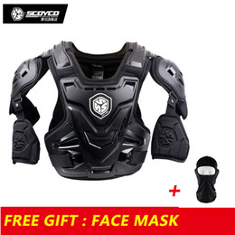 $enCountryForm.capitalKeyWord NZ - Scoyco Armor Motocross Vest Off Road Body Armor Motorcycle Jacket Racing Protective Guard Gear with Arm Protectors