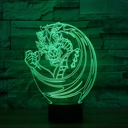 $enCountryForm.capitalKeyWord Australia - Chinese Dragon Led 3D Night Light Led Acrylic Lamp New Kid Lamp Home Decor,3D Illusion Lamp Touch 7 Color Change,Kids Birthday Xmas Gift