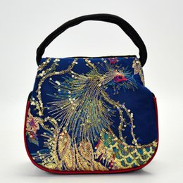 $enCountryForm.capitalKeyWord Australia - SJstudio 19S S INS Hottest Sale National Saquin Peacock Embroidery Design Handbag For Women