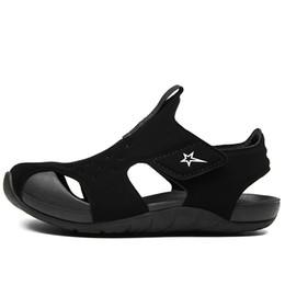 $enCountryForm.capitalKeyWord Australia - 2019 Summer Kids Sneakers Beach & Outdoor Sandals Brand Closed Toe Boys Girls Sport Leather Children Non-slip Shell Shoes MX190727